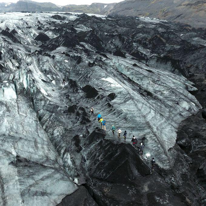 【冰島遊記】在索爾黑馬冰川玩冰川健行是怎樣的感受?