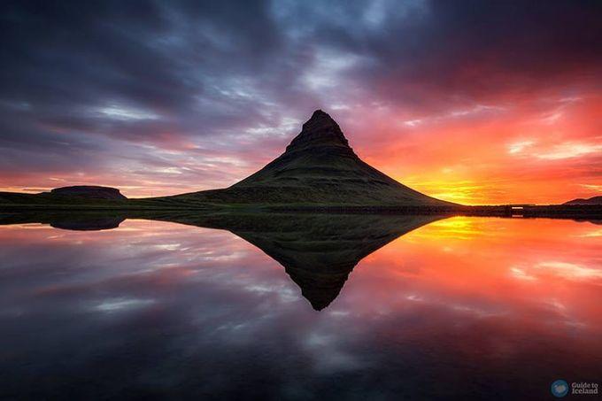 【冰島自由行】在冰島的夏季看一次午夜陽光