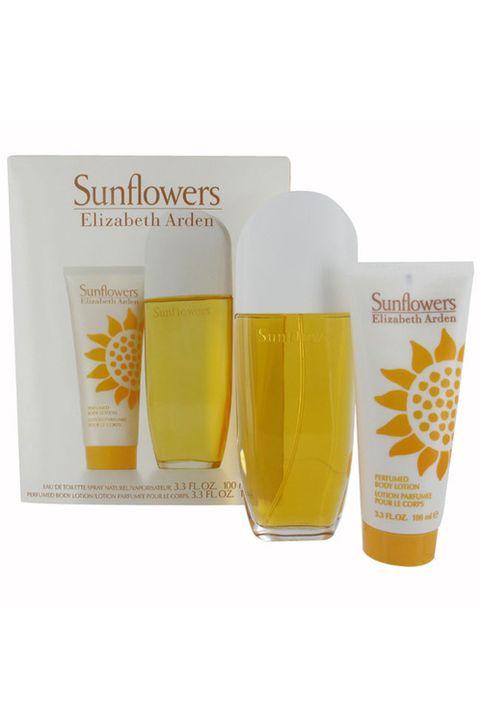 Elizabeth Arden Sunflowers Eau De Toilette 100ml Combo: Edt 100ml + 100ml Body Lotion