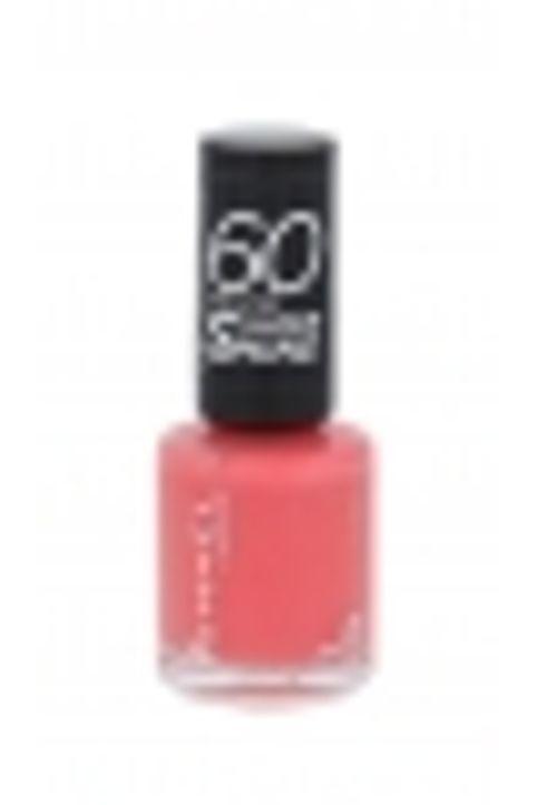 Rimmel London 60 Seconds Super Shine Nail Polish 8ml 405 Rose Libertine