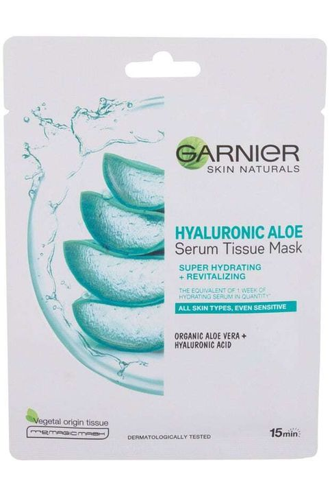 Garnier Skin Naturals Hyaluronic Aloe Face Mask 1pc (For All Ages)