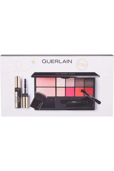 Guerlain My Essentials Makeup Palette 15,8gr Combo: Make-up 7 G + Eye Shadow 6 G + Lip Stick 2,8 G + Mascara Maxi Lash So Volume 3,5 Ml Deep Black