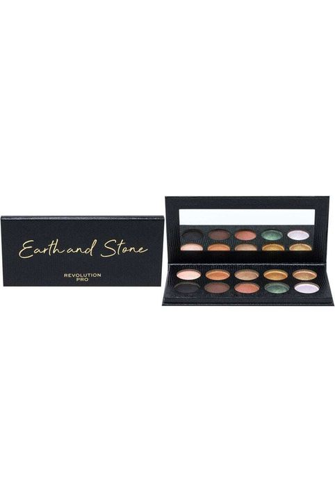 Makeup Revolution London Revolution PRO Colour Focus Shadow Palette Eye Shadow Earth & Stone 15gr