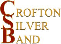 Crofton Silver Bandlogo