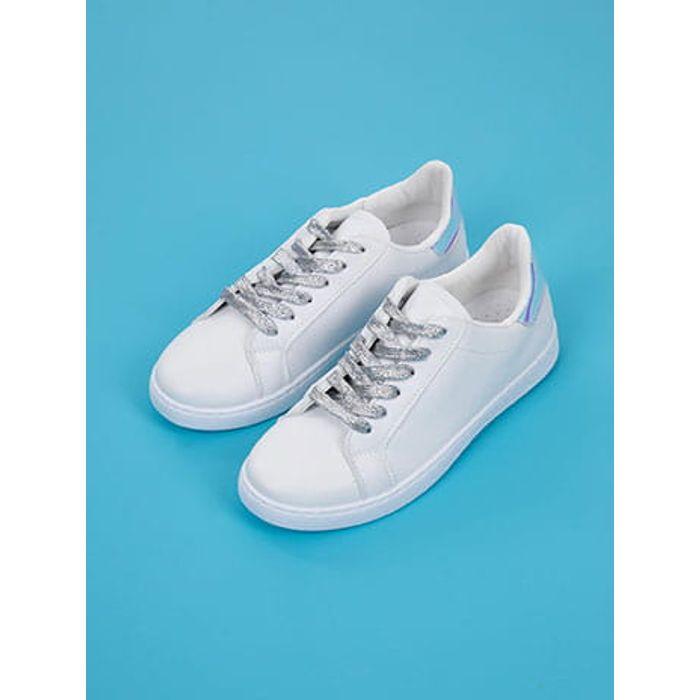 Αθλητικά παπούτσια με μεταλλιζέ κορδόνια SG1605.A004+1