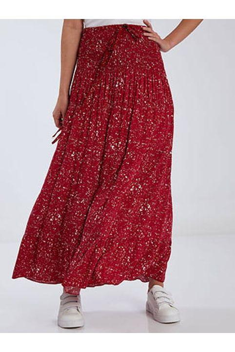 Φούστα φόρεμα με βαμβάκι SH1567.2063+2