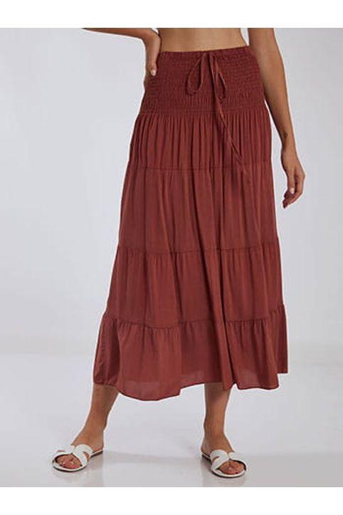 Φούστα φόρεμα από βαμβάκι SH1755.2506+2