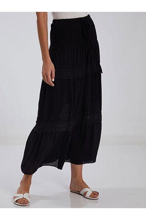 Φούστα φόρεμα με κέντημα SH1755.2902+3