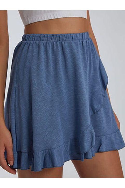 Mini φούστα με βολάν SH2140.2001+3