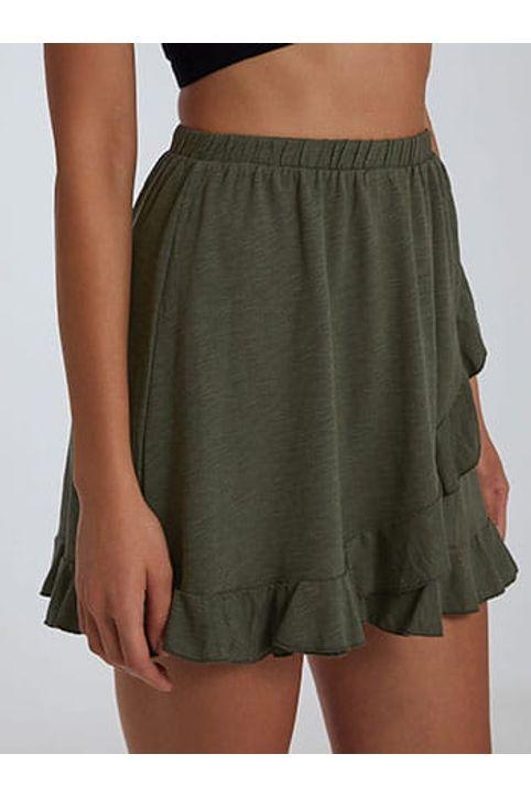 Mini φούστα με βολάν SH2140.2001+4