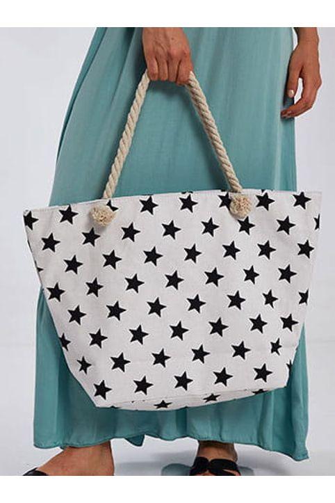 Τσάντα θαλάσσης με αστέρια SH7758.A110+1