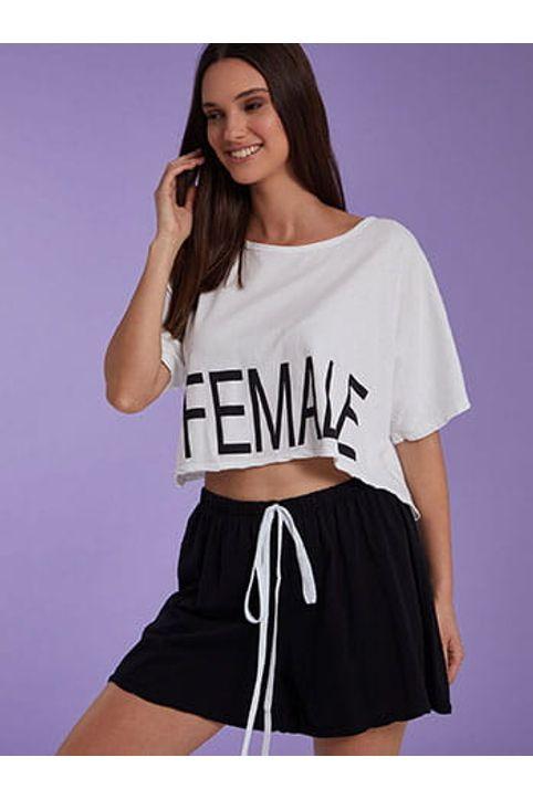 Σετ μπλούζα με σορτς από βαμβάκι SH7814.0032+1