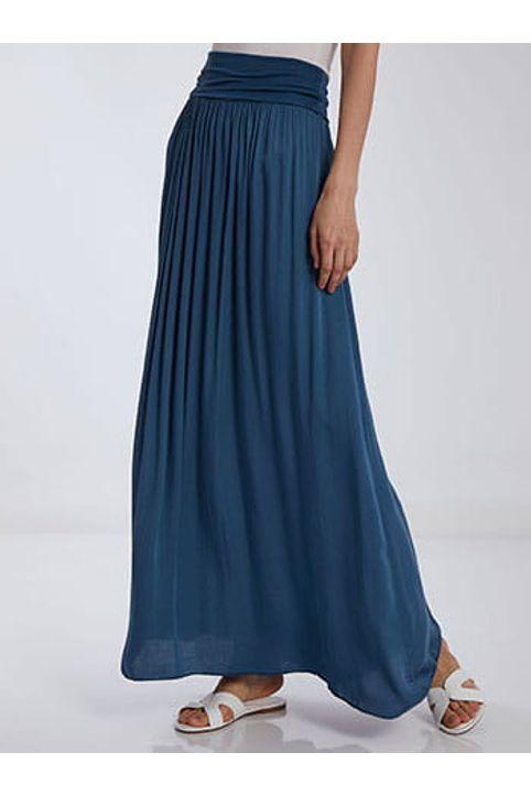 Φούστα φόρεμα με απαλή υφή SH7885.2008+3