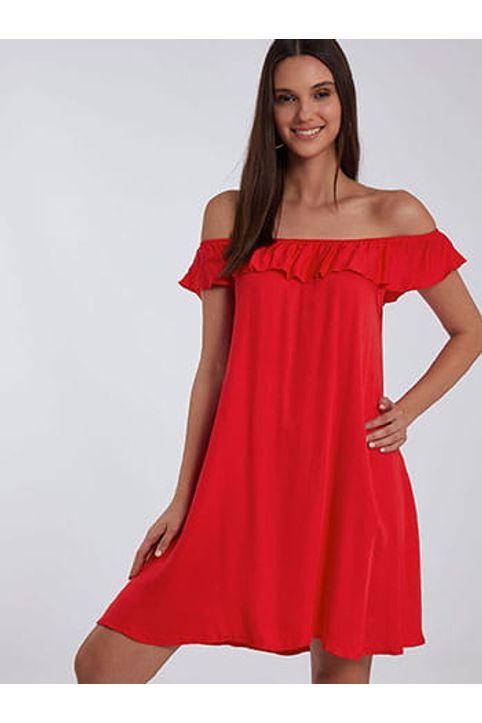 Φόρεμα με ακάλυπτους ώμους SH8700.8001+1