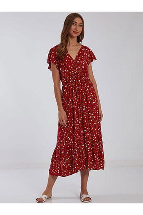 Κρουαζέ midi φόρεμα SH8712.8001+1