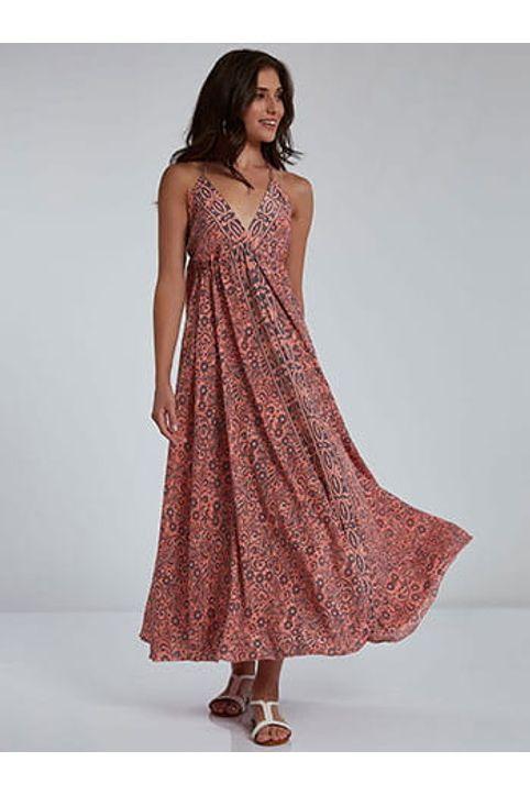 Φόρεμα με δέσιμο SH9845.8135+3