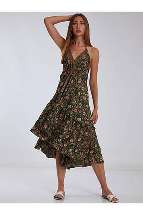 Φόρεμα με ανοιχτή πλάτη SH9845.8189+1