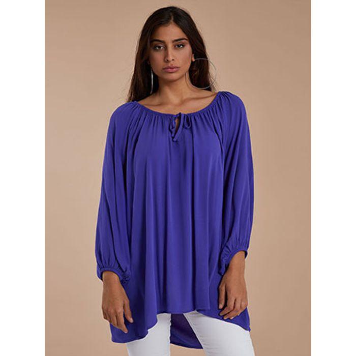 Μπλούζα με ελαστική λαιμόκοψη WH6267.4001+4