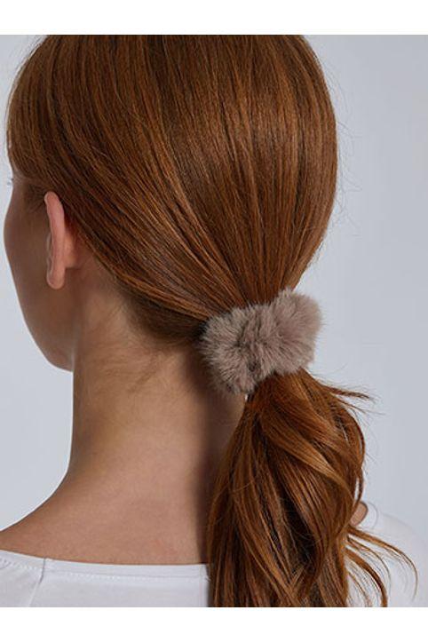 Λαστιχάκι μαλλιών από συνθετική γούνα WH9855.A111+8
