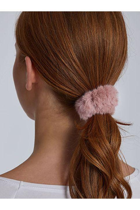 Λαστιχάκι μαλλιών από συνθετική γούνα WH9855.A111+9