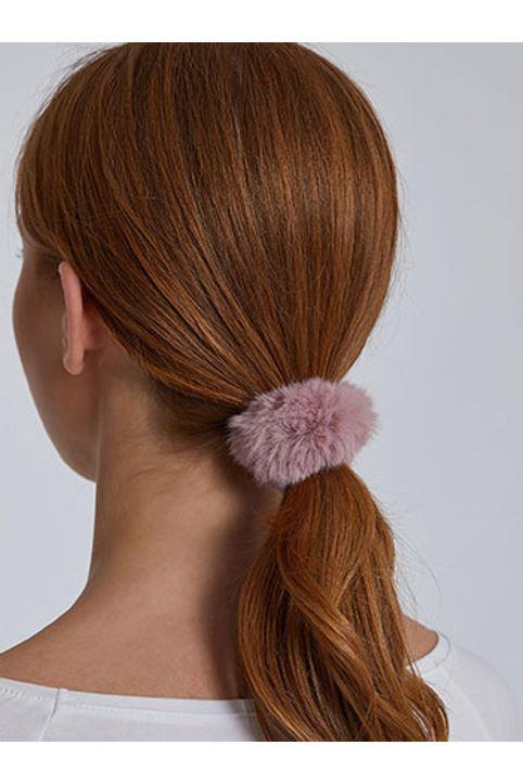 Λαστιχάκι μαλλιών από συνθετική γούνα WH9855.A111+7