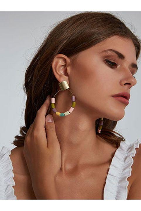 Κρεμαστά σκουλαρίκια με χάντες WM9913.A136+2