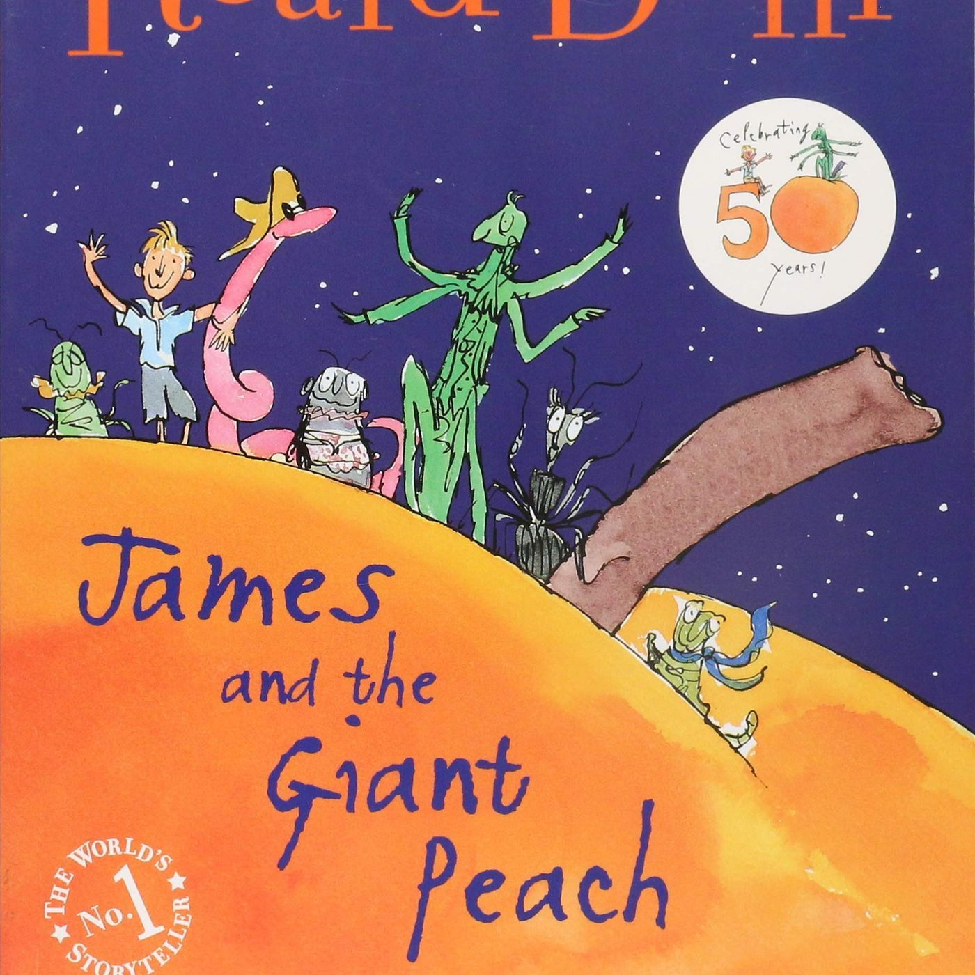 James And The Giant Peach (with Overdue!)