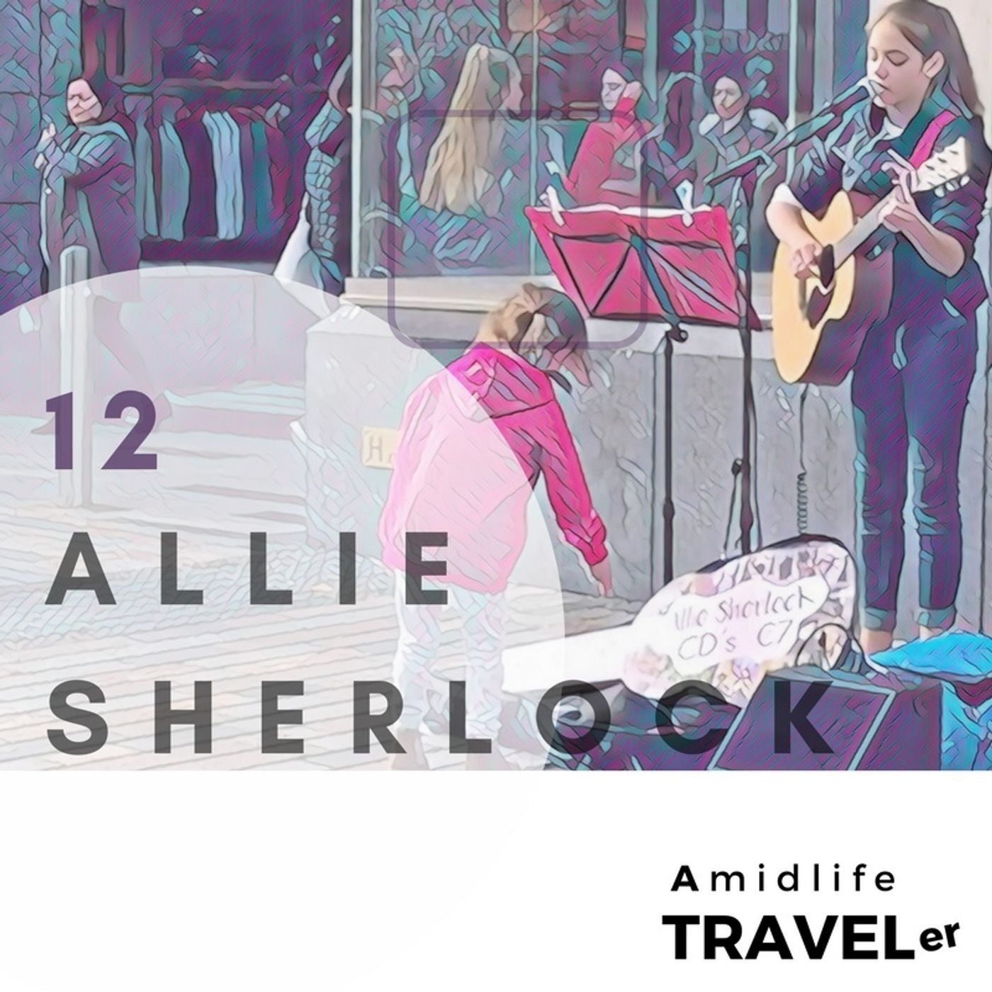 Remarkable Allie Sherlock 12 Year Old Street Musician from Cork Ireland