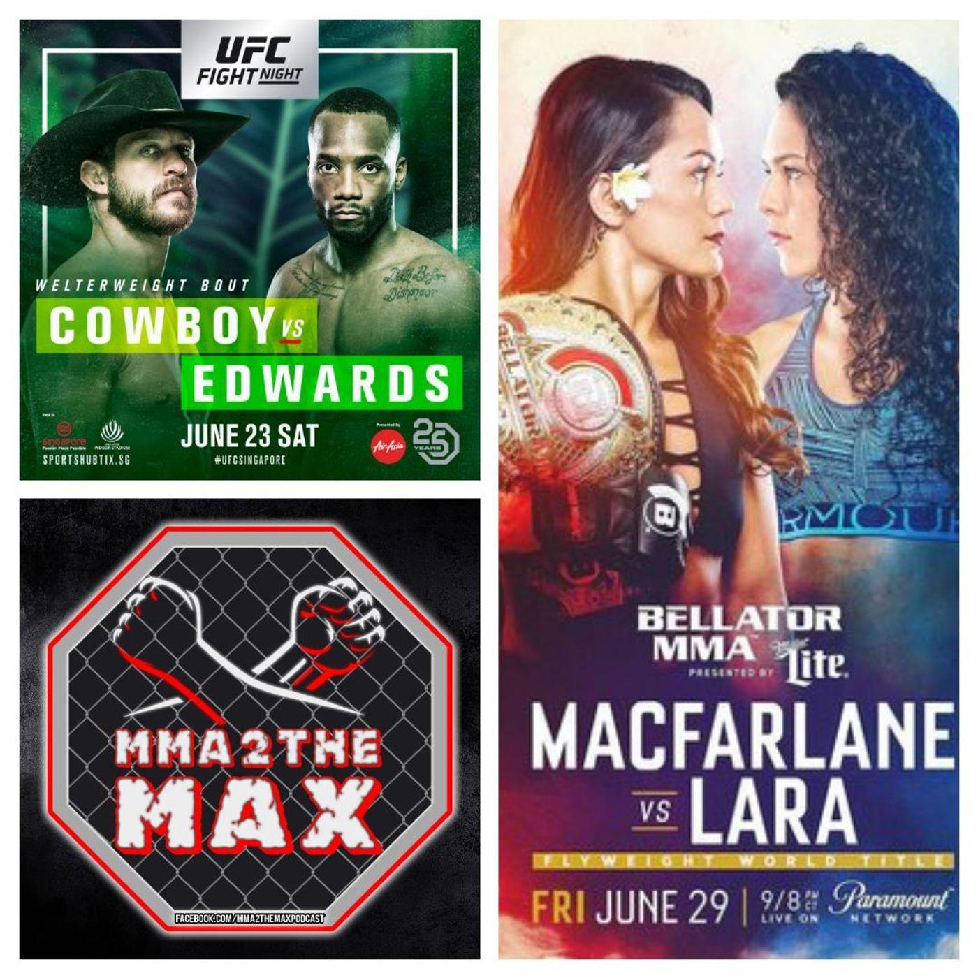 MMA 2 the MAX #46: Cerrone vs. Edwards Review