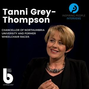 Listen to Episode #50:  Tanni Grey-Thompson