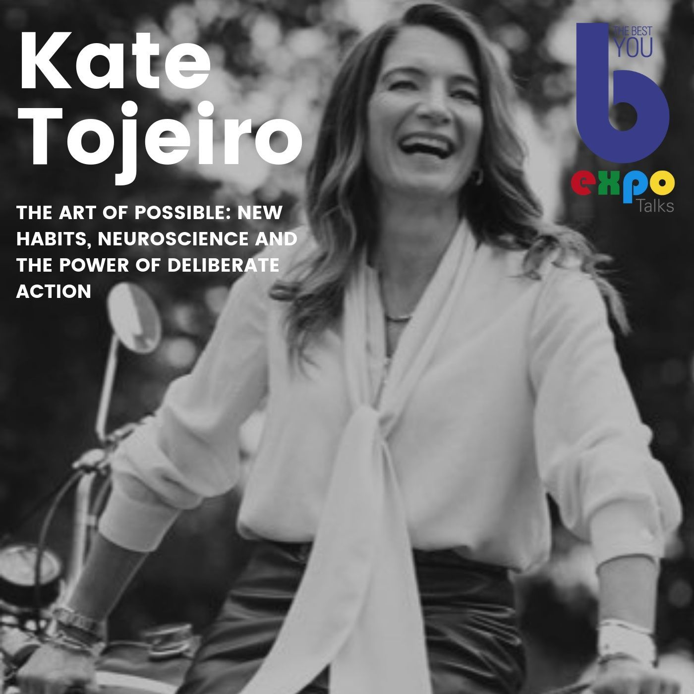 Listen to Kate Tojeiro at The Best You EXPO