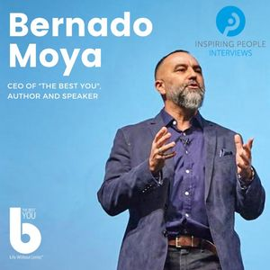 "Listen to Episode #41: Bernardo Moya with ""The Question"""