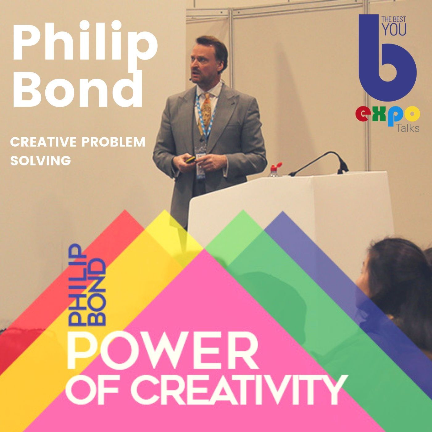 Listen to Prof Phillip Bond at The Best You EXPO