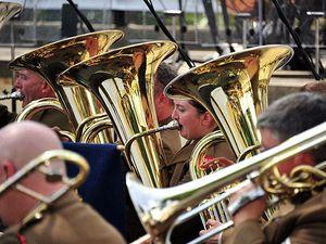 British Army brass band