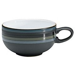 332125966094CPTE: Glazed striped Jet tea cup