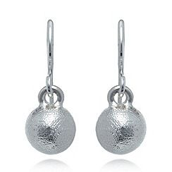 060011324397: Silver plated ball earrings