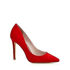 068010717803: Red Chloe high stiletto heel pointed shoes