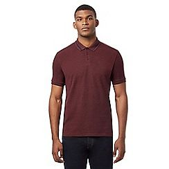 075010753059_BT: Big and tall dark red polo shirt