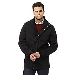 094010710960: Black quilted jacket