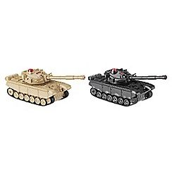 106010743099: RC Battling Tanks Twin Pack