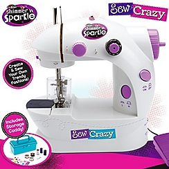 171080845499: Shimmer and Sparkle sew crazy sewing machine
