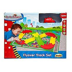171100243599: Go Go Drivers Flyover Track Set