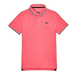 234020847105: Boys pink polo shirt