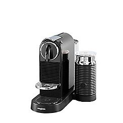 325004909760: Black Nespresso Citiz & Milk coffee machine