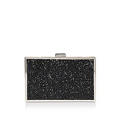 58958_6996000979: Black Toni clutch bag with shoulder strap