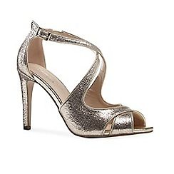 63126_21151407: Glitter marlowe high heel stiletto heel ankle strap sandals