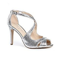 63126_21161407: Glitter marlowe high heel stiletto heel ankle strap sandals