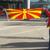 """Конечно блесна македонското знаме пред """"Ланксес Арена"""""""