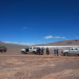 2019 - Lunch stop on a salar - Argentina