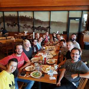 2014 - DCO Summer School Yellowstone - Final lunch